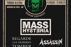 Lezard'Os Metal Fest 2016 - Les Fuseaux (Saint-Dizier - 52)