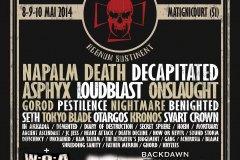 Lezard'Os Metal Fest 2014 - Château de Goncourt (Matignicourt - 51)